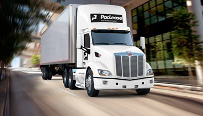 A commercial truck lease agreement with TLG Leasing includes preventative maintenance.
