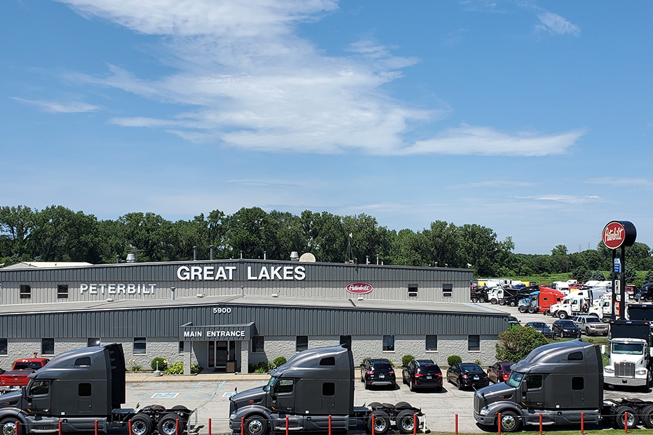 Plan your trip to TLG Peterbilt - Great Lakes in Portage, Indiana.