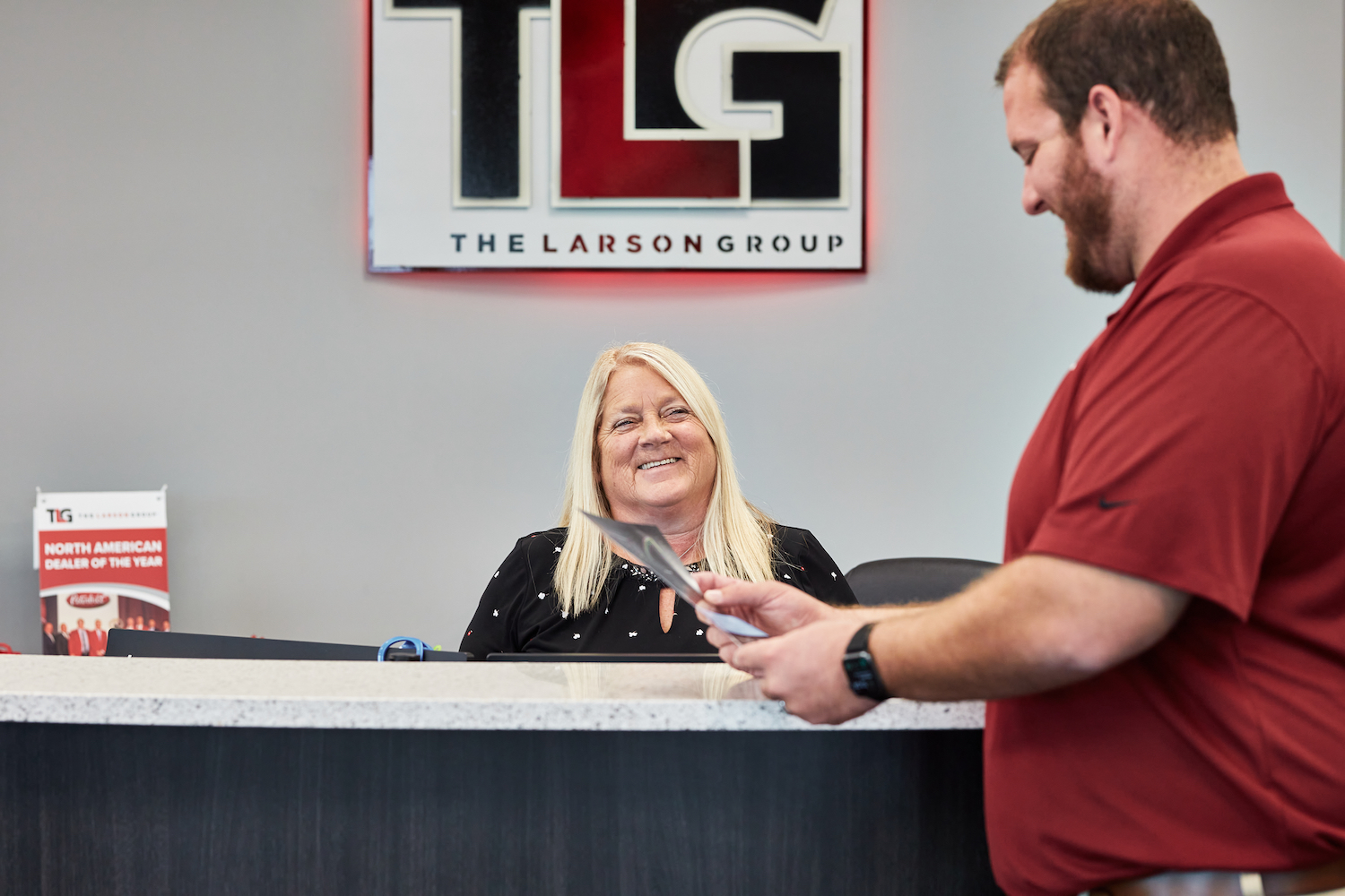 Commercial truck financing is made easy for TLG customers thanks to the company's dedicated partnership with PACCAR Financial and Capital Lending.