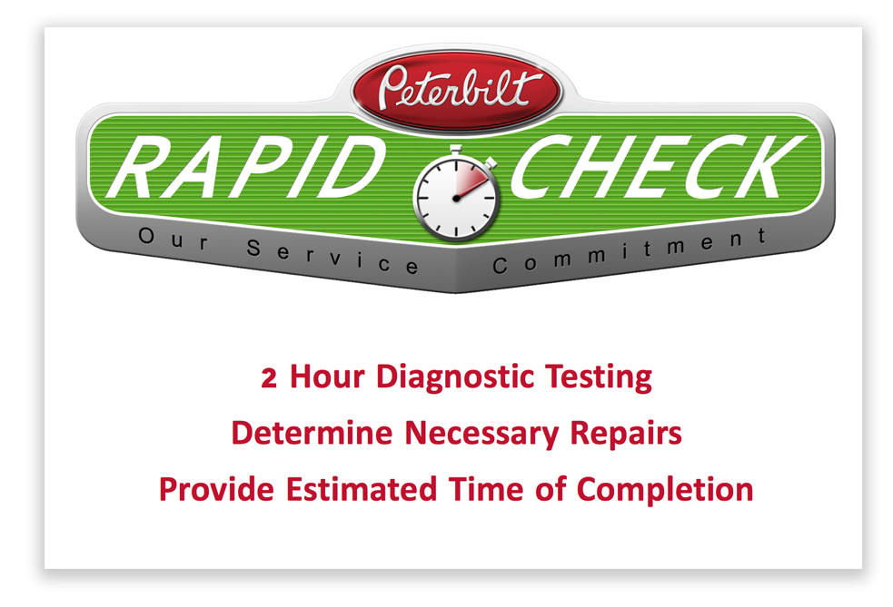 Rapid Check Service Commitment Program Details
